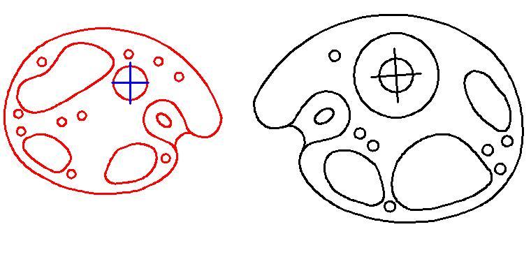 Блочный лук своими руками чертежи размеры